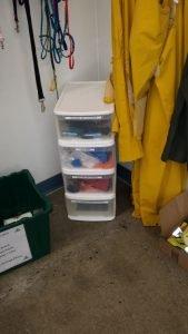 Homeward Pet bins donation