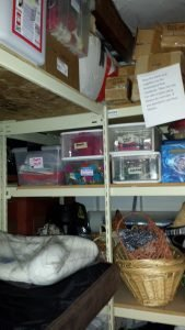 Donated Homeward Pet bins