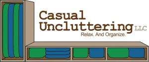 Casual Uncluttering Logo