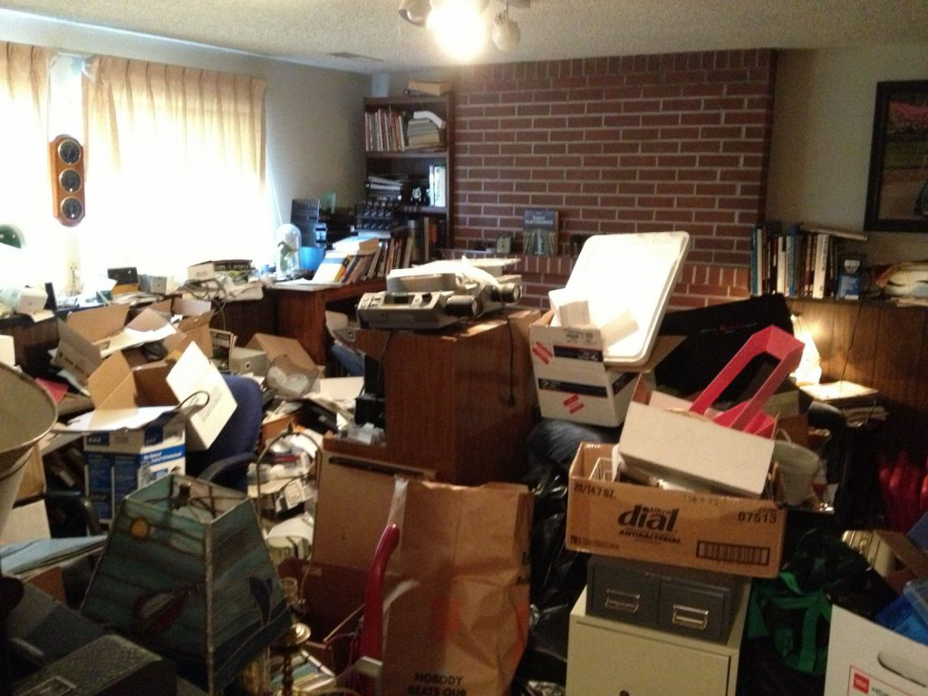 Casual Uncluttering Hoarding Situation 2