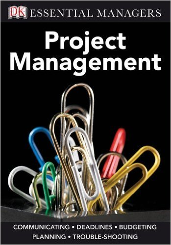 DK Essential Managers Project Management book cover
