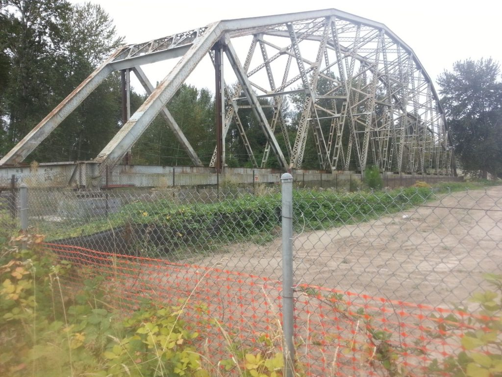 Decommissioned Bridge Puyallup WA