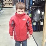 Boy Bundled in Jacket