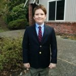 Young Boy in Dress Suit
