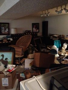 hoarded room
