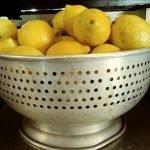 Still life with lemons